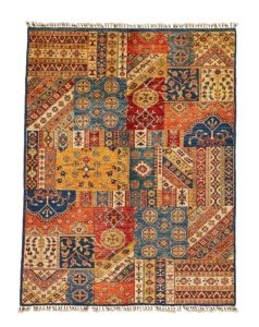 "Tapis Afghan ""Patchwork"""